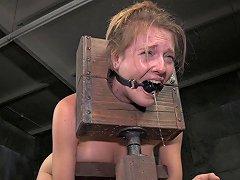 Medieval Kind Of Basement Torture For The Innocent Senorita