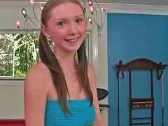 Sexy Teen Amy Quinn Riding A Stiff Dick
