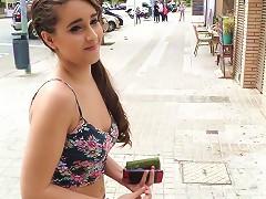 Cute Latina Rewards Stranger With A Fuck