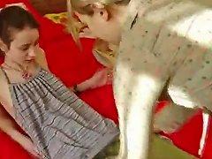 Teen Ivana Strip Her Girlfirends Ass Feature
